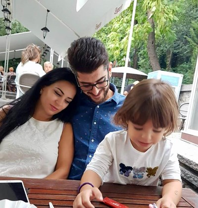 Сашо Кадиев семейство