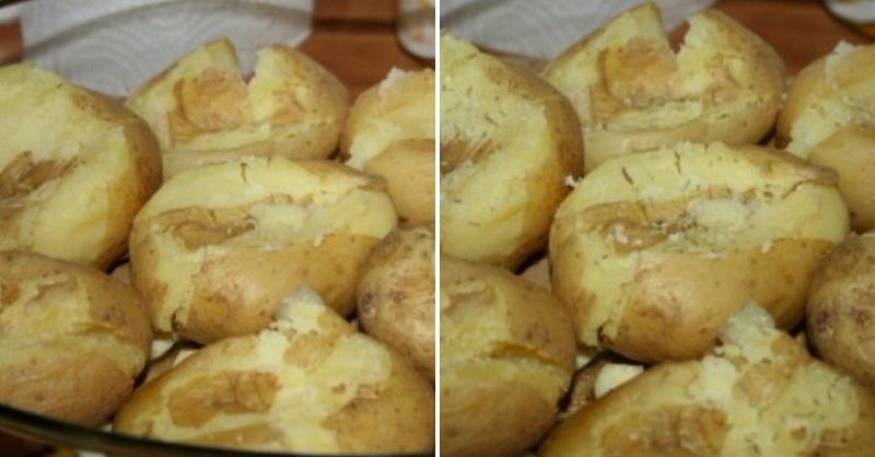 вечеря с картофи