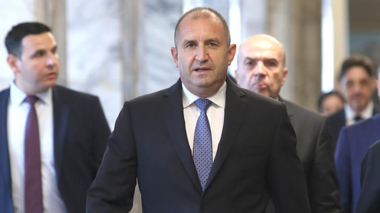 Румен Радев: Премиерът очевидно губи самообладание - News.bg