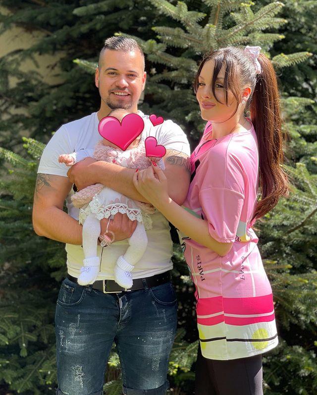 Симона Загорова с бебето