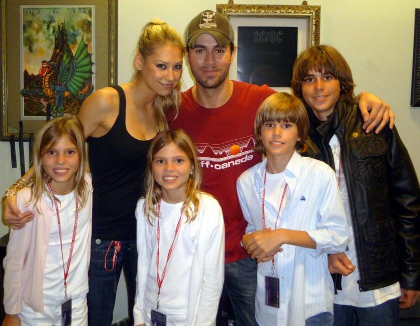 семейството на Енрике Иглесиас