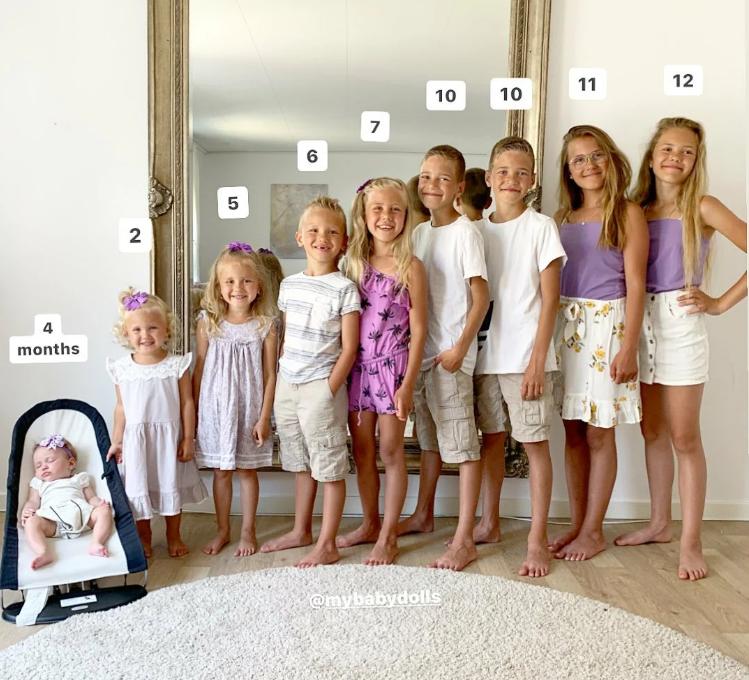 9 братя и сестри